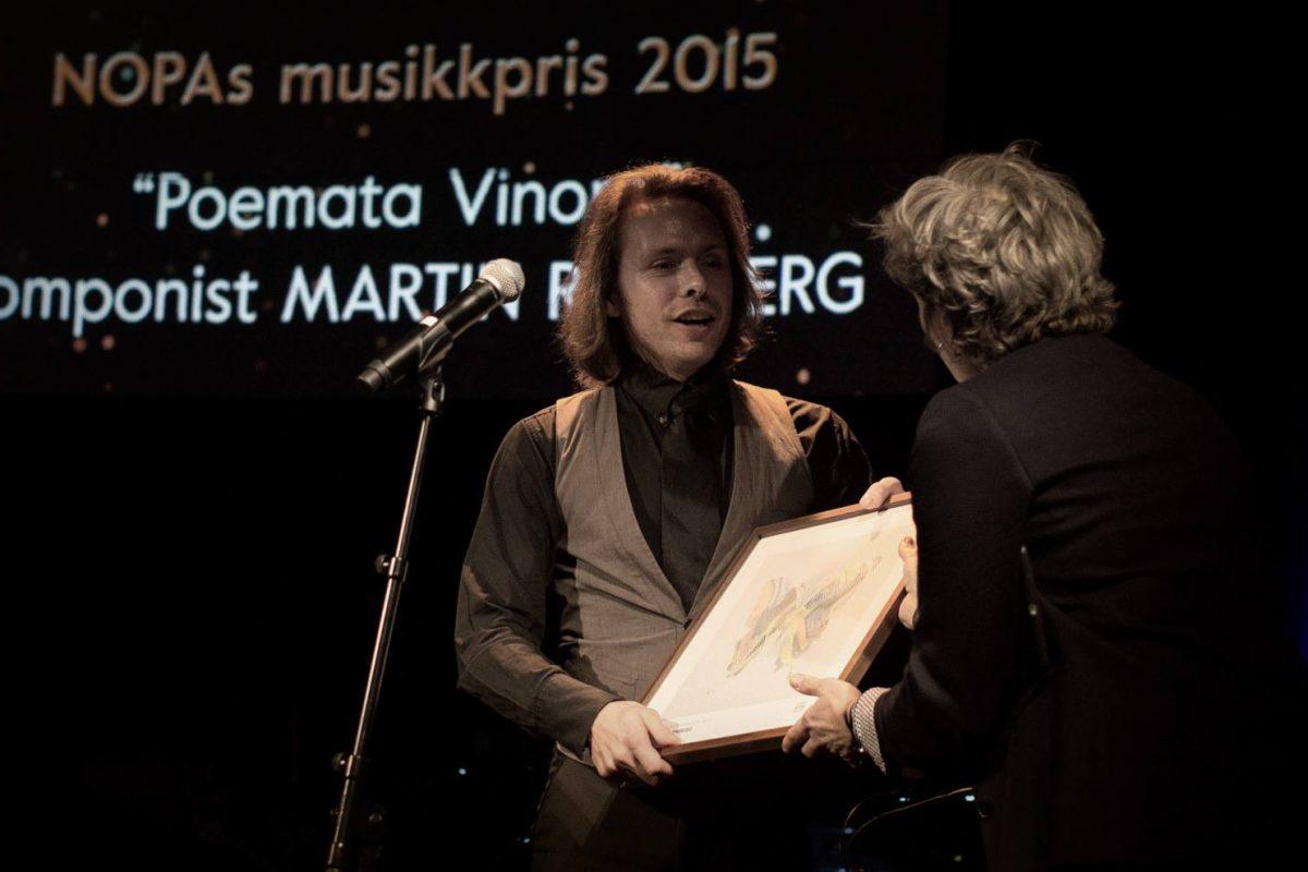 NOPAs musikkpris til Martin Romberg
