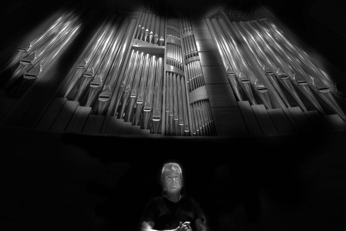 Nils Henrik Asheim og orgelet i Stavanger konserthus