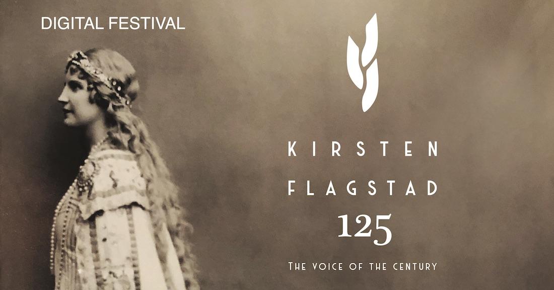 Digital Kirsten Flagstad Festival 18.–21. juni 2020